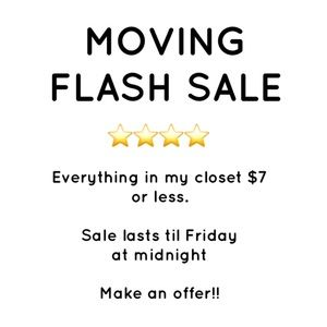 Accessories - Everything in closet discounted! Make offers!!